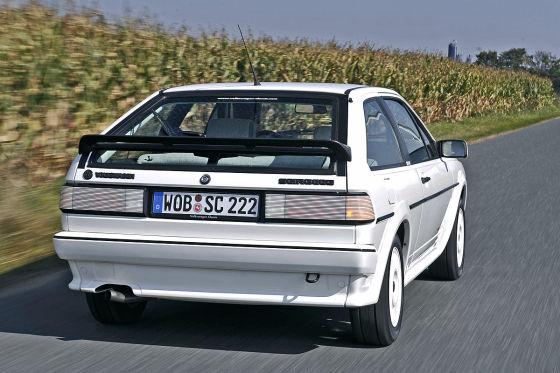 VW Scrirocco White Cat