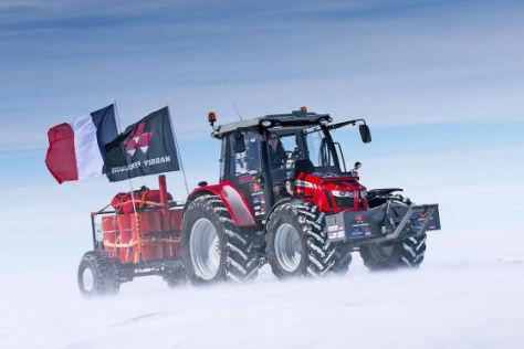 Antarctica2: Mit dem Traktor zum Südpol