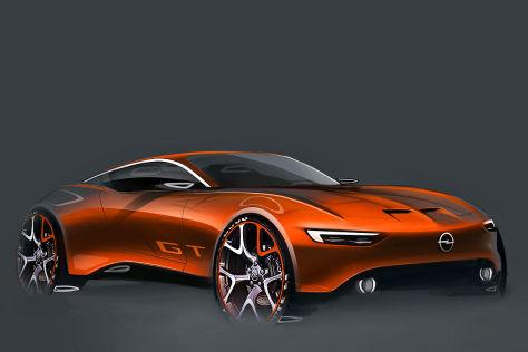 Opel GT, Entwurf (Vision)