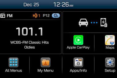 Hyundai Display Audio System: CES 2015