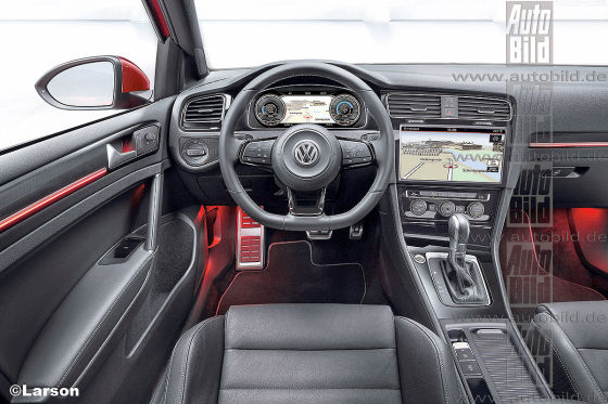 vw golf 7 vii facelift 2016 5 t rer variant gti infos. Black Bedroom Furniture Sets. Home Design Ideas