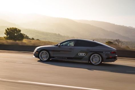 Audi A7 Sportback piloted driving concept Front