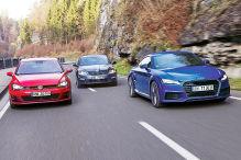 Neuer Audi TT gegen Golf und Octavia