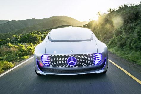 Mercedes F 015 CES 2015: Sitzprobe