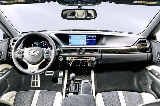 Lexus GS F Cockpit
