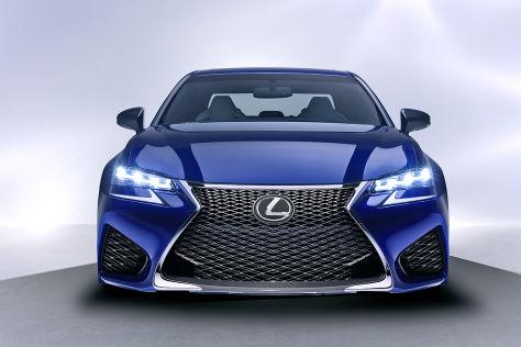 Lexus GS F Frontansicht
