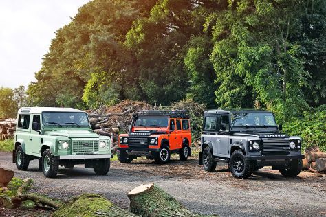 Land Rover Defender Final Edition (2015): Vorstellung