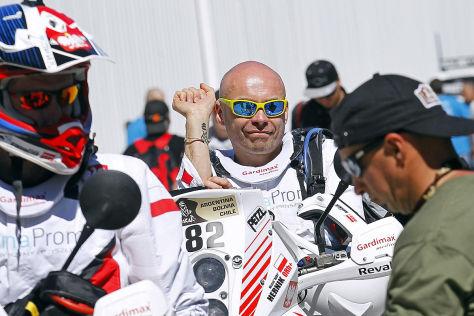 Michal Hernik ist auf seiner KTM bei der Rallye Dakar 2015 tödlich verunglückt