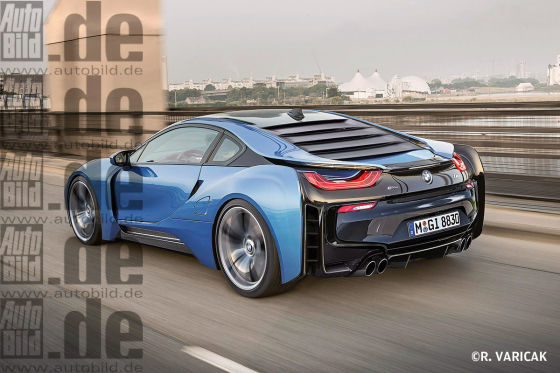 BMW i8S Illustration