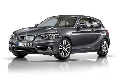 BMW 1er Facelift Erlkönig