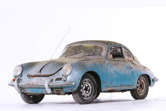 Scheunenfunde in frischem Licht: Porsche 356 Coupé