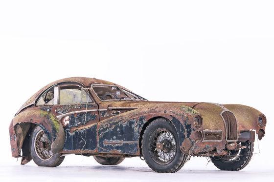 Scheunenfunde in grellem Licht: Talbot Lago 26 Grand Sport