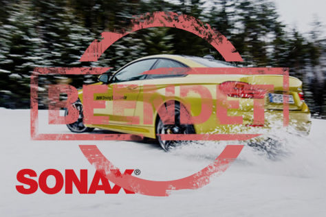 Sonax Wintertraining