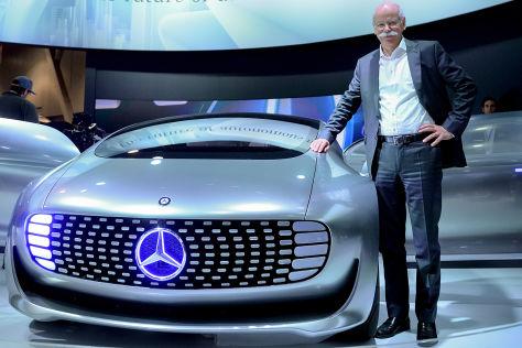 Daimler / Toyotas Brennstoffzellentechnik