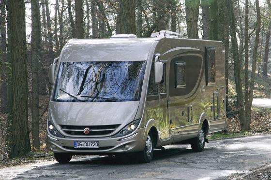 b rstner viseo i 720 g hymer b 678 wohnmobil test. Black Bedroom Furniture Sets. Home Design Ideas