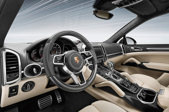 Porsche Cayenne Turbo S Cockpit