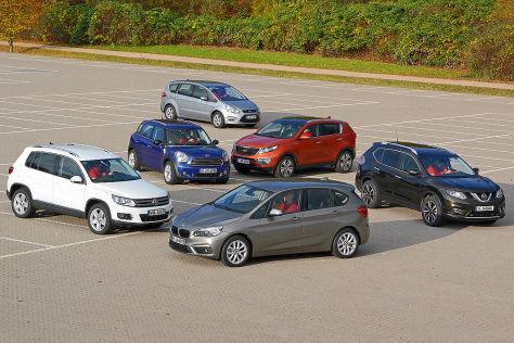 Sechs Autotypen für Senioren