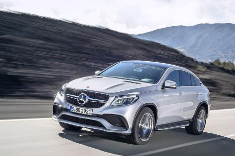 Das kostet das Mercedes-AMG GLE 63 Coupé 4Matic - autobild.de