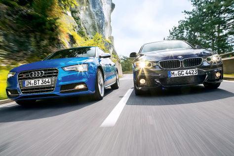 Audi S5 Sportback/BMW 435i Gran Coupé: Vergleich