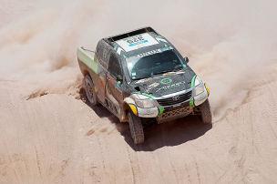 Rallye Dakar 2015: Achte Etappe