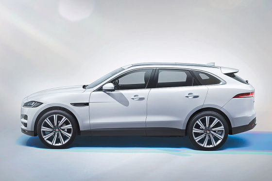 jaguar f pace iaa 2015 infos motoren preise markstart. Black Bedroom Furniture Sets. Home Design Ideas