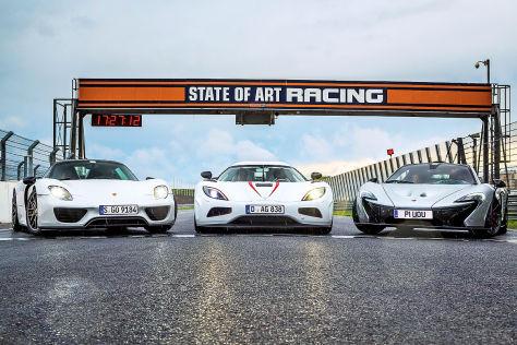 Koenigsegg Agera R/McLaren P1/Porsche 918 Spyder: Tuning
