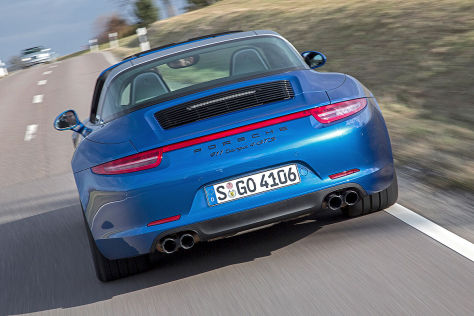 Porsche 911 Targa 4 GTS (Detroit 2015): Sitzprobe