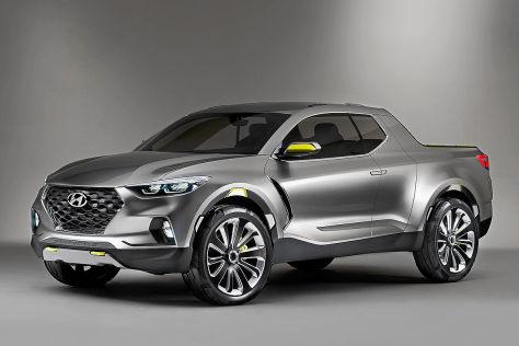 Hyundai Santa Cruz Concept: Detroit Motor Show 2015