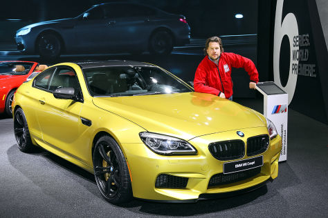 BMW M6 Coupé (Detroit Motor Show 2015): Sitzprobe