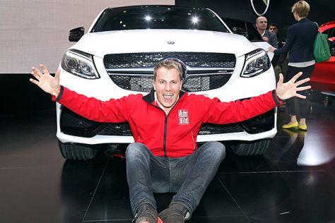 Mercedes-AMG GLE 63 S Coupé: Sitzprobe