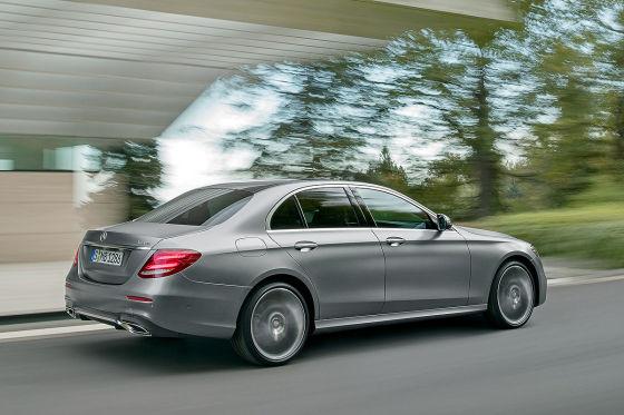 Mercedes E-Klasse Illustration