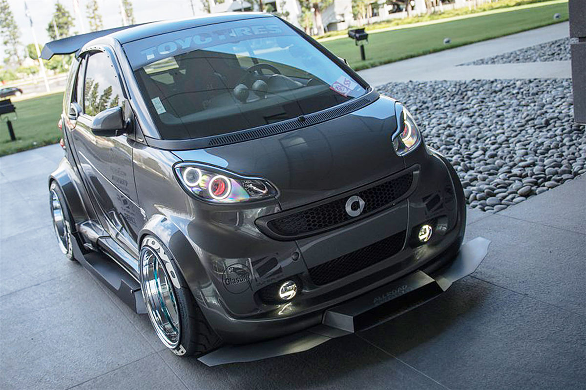 smart fortwo tuning von autokonexion bilder. Black Bedroom Furniture Sets. Home Design Ideas