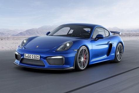 Porsche Caymann GT4