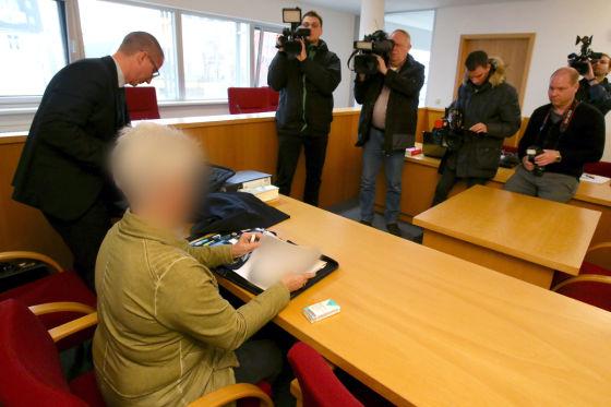 Gerichtsverhandlung in Rostock