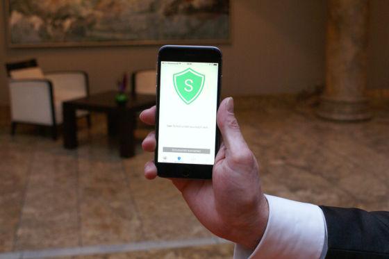 Schutzranzen App auf iPhone