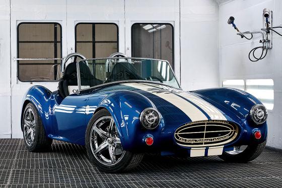 Shelby Cobra GT aus dem 3D-Drucker