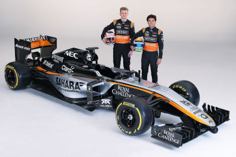 Force India VJM08 Saison 2015