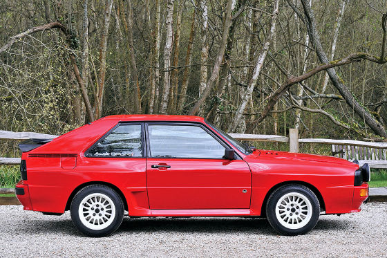 Kurzer Rallye-Audi erzielt Top-Preis