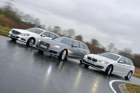 Audi A6 BMW 5er Mercedes E-Klasse