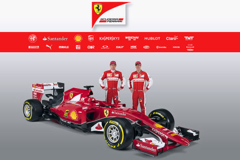 ferrari sf15 t das ist sebastians vettels neuer formel 1. Black Bedroom Furniture Sets. Home Design Ideas