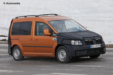 VW Caddy (2015): Erlkönig