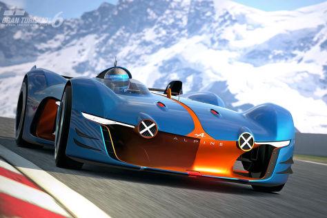Alpine Vision Gran Turismo für Playstation