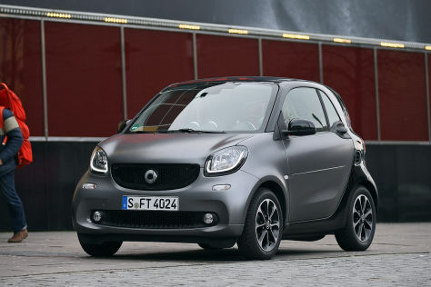 stadtflitzer in neuem format der neue smart fortwo im test. Black Bedroom Furniture Sets. Home Design Ideas