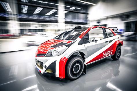 Toyota Yaris für die WRC 2017