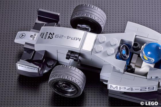 Legendäre Rennautos aus Lego