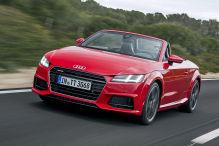 Erste Ausfahrt im offenen Audi TT