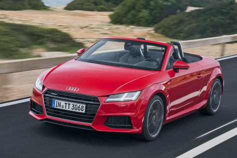 Audi TT Roadster (2015): Fahrbericht und Preis