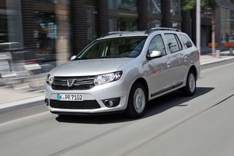Kombi-Vergleich: Dacia Logan MCV