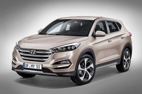 Hyundai Tucson: Autosalon Genf 2015