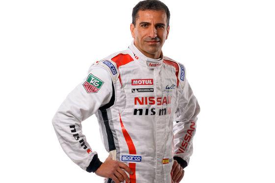 Rennfahrer Marc Gené